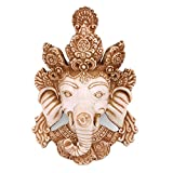 Collectible India God Ganesh Wall Hangings Hindu God Ganesh Wall Decorative Figurines-Ganesha Wall Hanging Mask