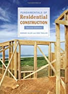 Fundamentals of Residential Construction by Allen