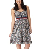 Hot Sale Joe Browns Women's Pretty Flower Tea Dress Paisley Multi (12)