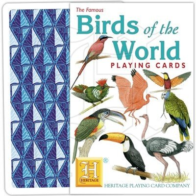 Exotic Birds Playing Cards