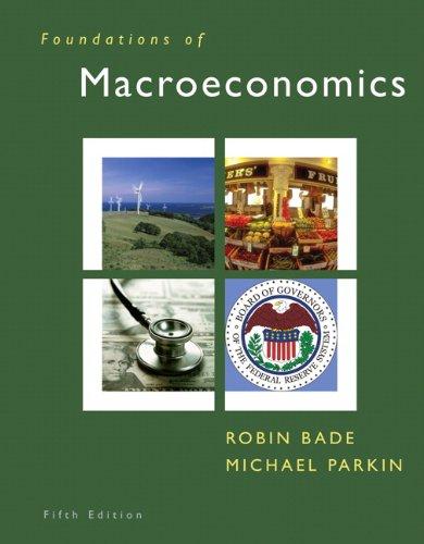 Foundations of Macroeconomics (5th Edition)