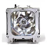 Liberty Brand Replacement Lamp for HITACHI DT00491 including generic housing and brand new Ushio lamp