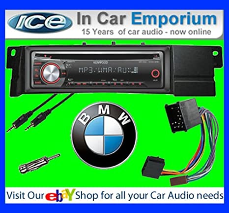 BMW Série 3 E46 Autoradio CD MP3 radio play Clarion, iPod, iPhone, Android