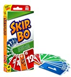 Mattel 52370-0 - Skip-Bo, Kartenspiel