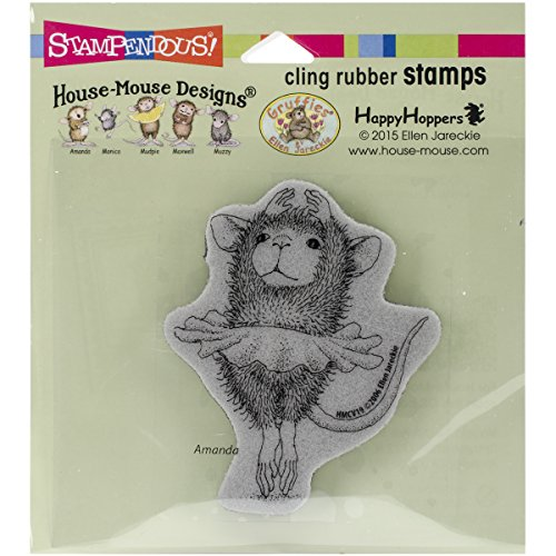 STAMPENDOUS CLING RUBBER STAMP HOUSE MOUSE BALLERINA BABY (Rubber Stamps House Mouse compare prices)