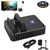 3 In 1 Button Dock Set for Nintendo Switch, Replacement Dock Set with HDMI Cable and Power Cord for Nintendo Switch (Dock Set)