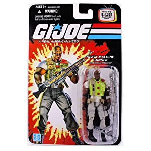 GI Joe 25th Anniversary Wave 8 Roadblock Action Figure