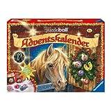 "Ravensburger 11424 - Adventskalender Pferde Puzzleball 2010von ""Ravensburger"""