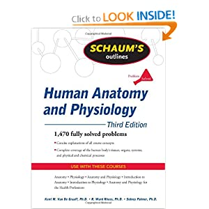 Schaum's Outline of Human Anatomy and Physiology 3rd edition PDF by Kent Van de Graaff
