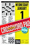 Fred Piscop Crossword Page-A-Day Notepad and 2014 Calendar