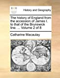 img - for The history of England from the accession of James I. to that of the Brunswick line. ... Volume 2 of 8 book / textbook / text book