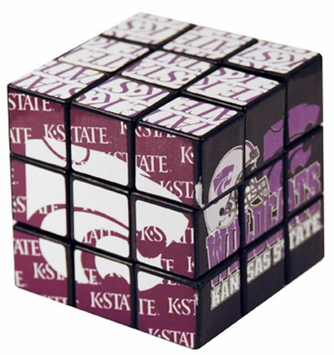 NCAA Kansas State Wildcats Toy Puzzle Cube - 1