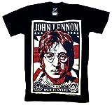 アメコミ風バンド(ロック)Tシャツ JOHN LENNON  ジョン・レノン   Sサイズ