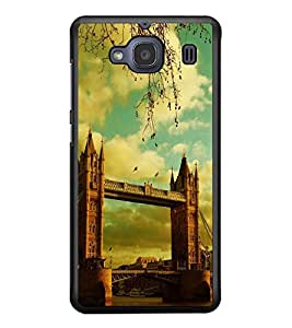 PRINTSWAG BIDGE VIEW Designer Back Cover Case for XIAOMI REDMI 2