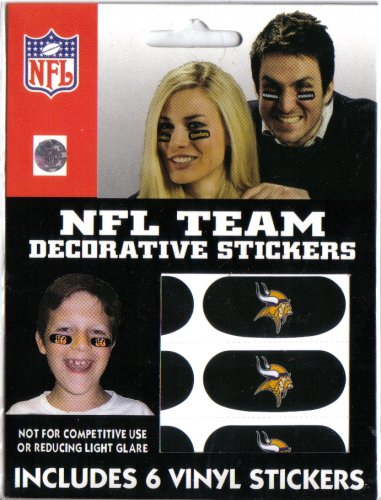 Minnesota Vikings Decorative Face Stickers - Buy Minnesota Vikings Decorative Face Stickers - Purchase Minnesota Vikings Decorative Face Stickers (The Party Animal, Inc., Home & Garden,Categories,Patio Lawn & Garden,Outdoor Decor,Banners & Flags)