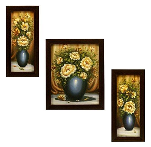 3 PIECE SET OF FRAMED WALL HANGING ART - B01DUGVT46