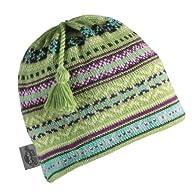 Turtle Fur - Women's Kyudo, Classic Wool Knit Tassel Ski Hat