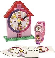 Comprar LEGO 9005039 - Reloj analógico para niña, correa de plástico color rosa