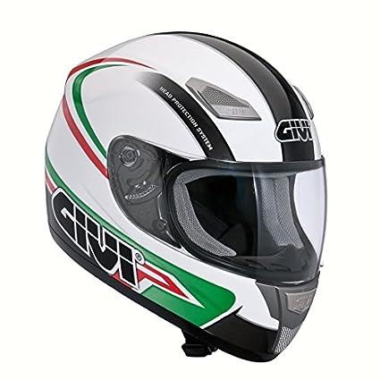 Casque intégral givi h50.2 61XL-blanc/vert
