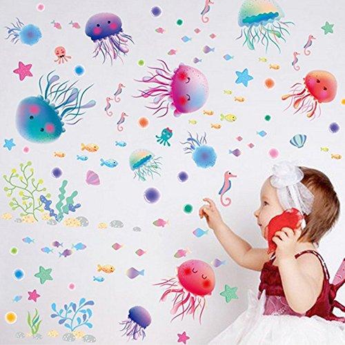 cute-ocean-jellyfishes-pesci-casa-aquatics-adesivo-da-parete-decorazioni-in-pvc-vinile-carta-da-para
