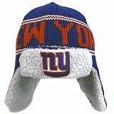 NFL New York Giants Men's Yeti Knit Cap, One Size, Royal