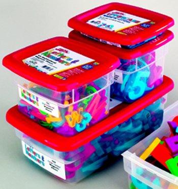 Alphamagnets Lowercase 42 Pcs Multicolored