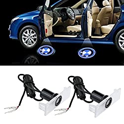 See Fortitude Pack of 2 New Design BMW Logo Door Light Car Vehicle LED Courtesy Welcome Logo Light Shadow Ghost LED Light Lamp Projector Light Details
