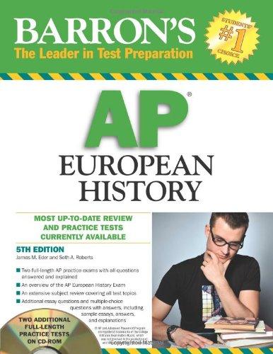Barron's AP European History with CD-ROM