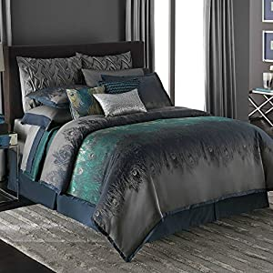 Jennifer Lopez bedding collection Exotic Plume 4-pc. Comforter Set - Queen+ GIFT