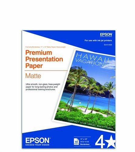 Epson MATTE HEAVYWEIGHT PAPER, BORDERLESS,