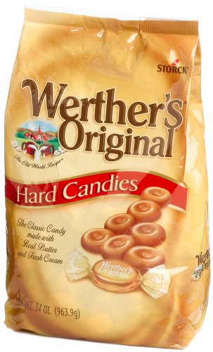 Werther's Original Hard Candies 34 Ounce Value Bag