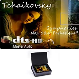 Tchaikovsky Symphonies Nos. 5&6'Paphetique' High Definition Music Card [Blu-ray]