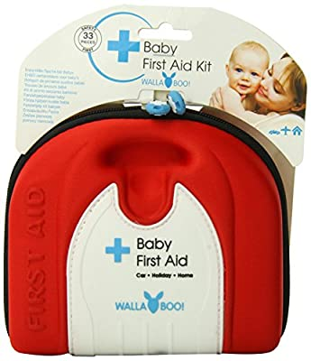 Wallaboo Basic First Aid Kit for Babies, Durable and Sturdy, Camper from Wallaboo