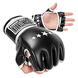 MMA Synthetic Hybrid Training Gloves by Contender Fight Sports classic