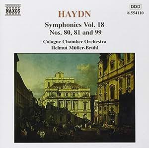 Haydn Sinfonien 80, 81 und 99 Mueller