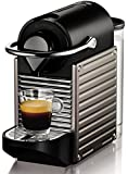 Nespresso Pixie Titan XN3005 Krups  - Cafetera monodosis (19 bares, Apagado automático, Sistema calentamiento rápido)