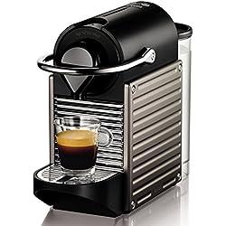 Nespresso Pixie XN3005 macchina per caffè espresso di Krups, colore Electric Titan