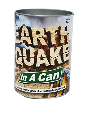 EarthQuake In A Can - Battery Operated Temblor - 1