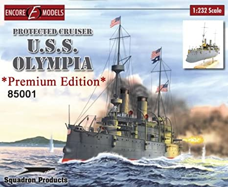 Encore Models 1/232 U.S. Navy protection cruiser Olympia SP EC85001 (japan import)