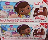 2 Boxes (6 Eggs) Disney Pixar DOC McSTUFFIN Chocolate, Free Gift