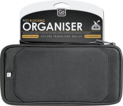 GO TRAVEL - Travel Document Organiser RFID Secure - Go674 by Go Travel