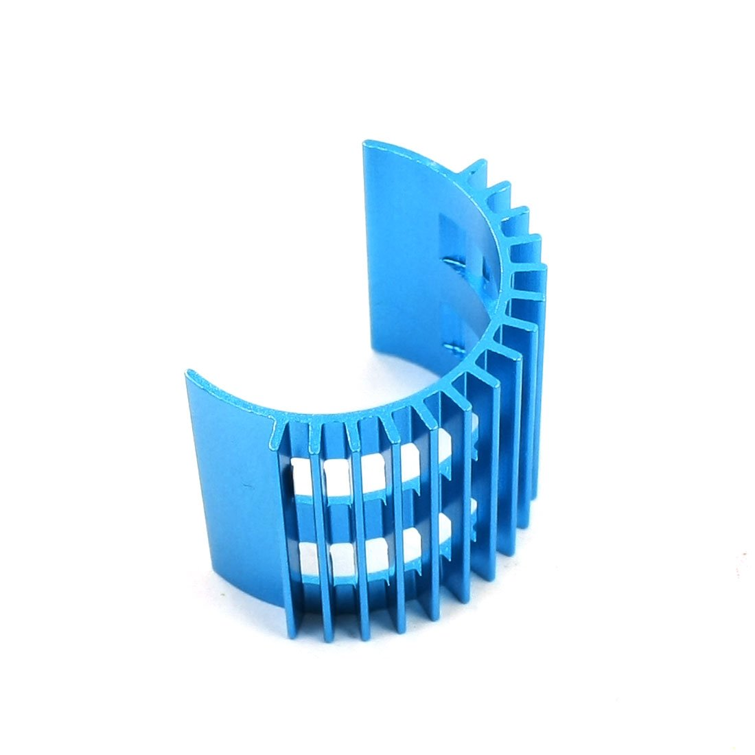 Heatsink Heat Diffuse 15 Fins Cooling Fin for 380 Motor 75 29 3 15 2mm pure copper radiator copper cooling fins copper fin can be diy longer heat sink radiactor fin coliing fin