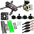 LHI 250 mm Quadcopter Race Copter Frame Kit ARF+ CC3D Flight Controller + MT2204 2300KV Motor + Simonk 12A ESC + 5030 propeller