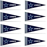 Dallas Cowboys Mini Pennant Set: 8-Pack