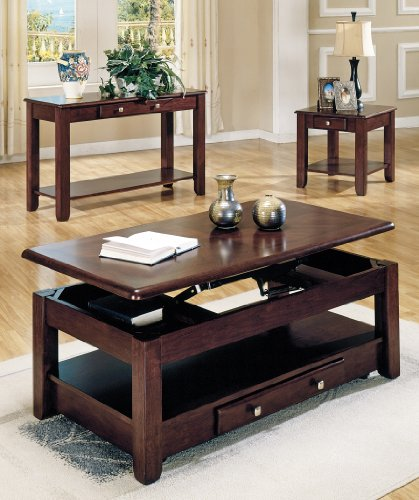 Buy Low Price Steve Silver Company Primo Coffee Table Set