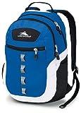 High Sierra Opie Backpack, Royal Cobalt White Black, 18.5 x 12.5 x 8.5-Inch