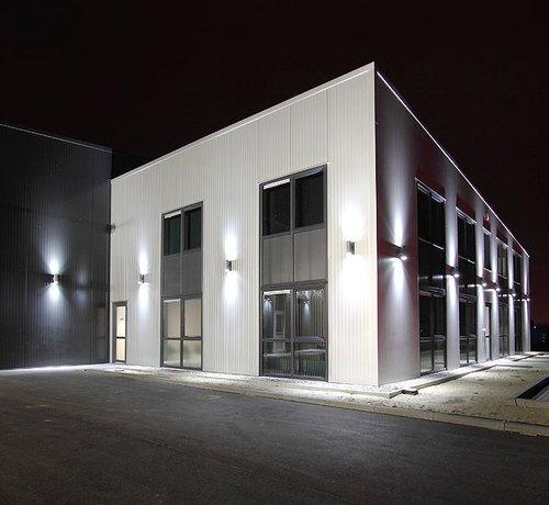 Wandlampe-Wandleuchte-Wandstrahler-Auenleuchte-GP-235-Gartenfassung-IP54-mit-2-X-LED