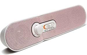 TDK LoR テレビの音声が手元でくっきり聞こえる 2.4GHz デジタル ワイヤレス ステレオ スピーカーシステム ホワイト SP-TV24WA-WH