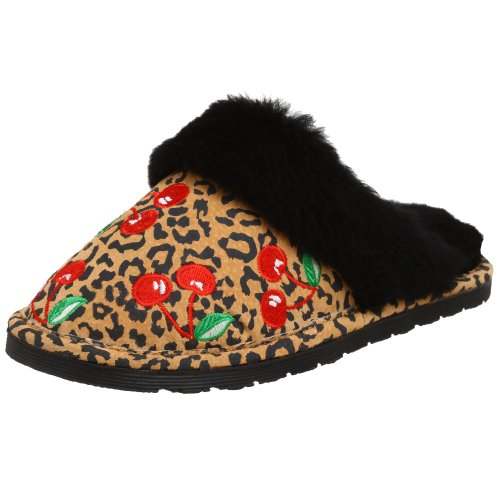 Cheap Chooka Women's Cherry Leopard Slipper (B001CMI318)