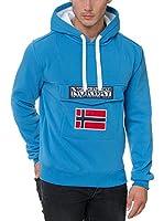 Geographical Norway Sudadera con Capucha Gadrien (Azul)